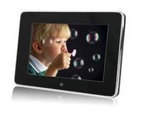 achat en gros de cadres photographiques-Multifonction 7inch LED Cadres photo numériques (programme Haier1016D) Digital Photo Frame / appareils photo numériques / équipem photographiques USB
