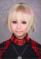 Wholesale New Arrival Rin Togainu no Chi True Blood Anime Costumes Cosplay Party Hair wig J50