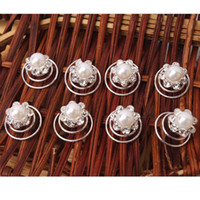 Wholesale Hairpins Pearl Hair Twists Spins Pins hair Accessories Sets Ship From USA S01583