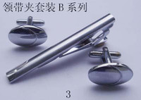 Wholesale mens Tie Clip amp cufflinks set sets per style from designs item