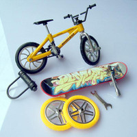 Wholesale Mini Finger Skate Board Extreme Sports Toys bick Bicycle