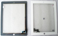 Wholesale For Ipad ipad Black White Touch Screen Digitizer Glass External Screen Handwriting Adhesive