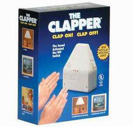 Wholesale New Hot high quality The Clapper Sound Activated On Off Switch US AU UK plug home automation control security surveillance