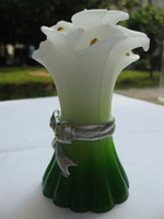 Wholesale Calla Lily Design Wedding Candle Christmas gift