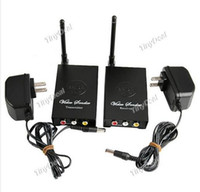 Wholesale 2 GHz Digital Wireless Audio Video Sender Room to Room AV Transmitter amp Receiver Kit