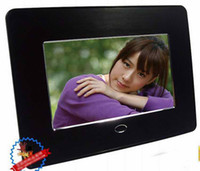 MP3 gold picture frame - Via DHL inches digital photoframe colors digital frame digital picture frame