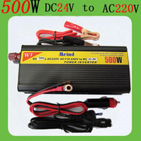 Wholesale Advanced modified sine wave Car power inverter adapto power converter W V to V With Charger