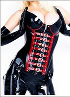 Wholesale Latex clothing Latex corset sexy
