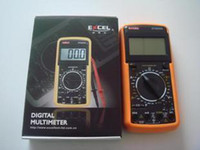 Wholesale Digital Volt Ammeter Ohm Test Meter Multimeter EXCEL DT A