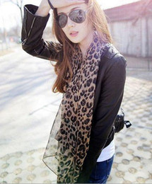 Most Popular Stylish Silk Scarves Leopard Scarf Women's STYLISH Christmas gifts NEW ARRIVAL hot 20pcs lot