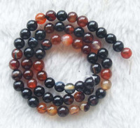 Wholesale DIY semi finished products Agate Round Beads mm inches