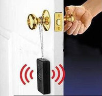 Wholesale Black colors Wireless Touch Door Knob Entry Alarm Alert Security Anti Theft dB egomall H945