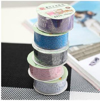 Wholesale L100cm cute lace tape stick bud silk stationery stickers Office Adhesive Tape Deco Tape Large
