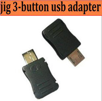 Wholesale 3pcs jig button usb adapter for Samsung i9100 binary Counter Reset tool Download Mode Jig