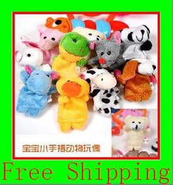 Wholesale Animal Finger Puppets Professional baby amp kids Supplier For Escrow Payment g