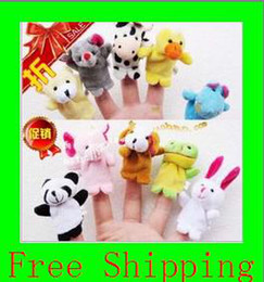 Wholesale Animal Finger Puppets Professional baby kids Supplier For Escrow Payment EMS