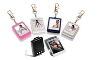 Wholesale Christmas gift inch led screen Mini Digital photo frames electronic albums of Key Ring Frame brand new