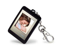 Wholesale Christmas gift inch Mini Digital photo frames electronic albums of Key Ring Frame Video colorful