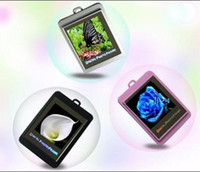 Wholesale Christmas gift inch Mini Digital photo frames electronic albums of Key Ring Frame photography