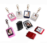 Wholesale 2012 Christmas gift inch Mini Digital photo frames electronic albums Key Ring Frame Video player