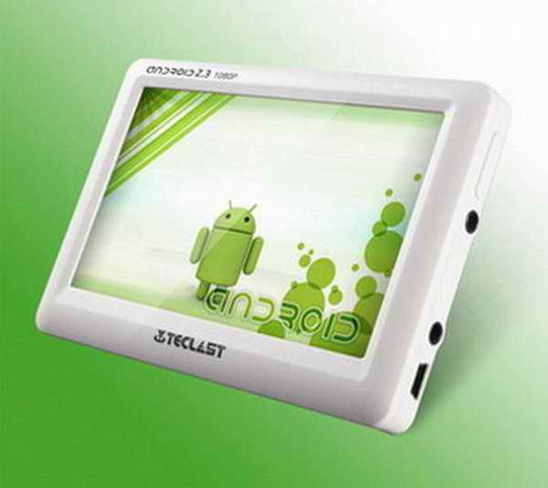 buy mp4 player teclast c430pe 4gb 4 3 inches android 2 3 1080p