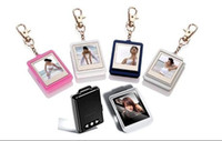 Wholesale New inch Mini Digital photo frames colorul electronic albums Key Ring Christmas gift