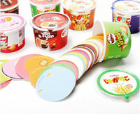 Wholesale CREATIVEBAR Label Self adhesive Note Cup Scratch Paper lots36