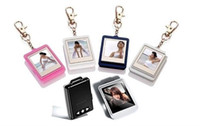 Wholesale Christmas gift inch Mini Digital photo frames electronic albums Key Ring high quality