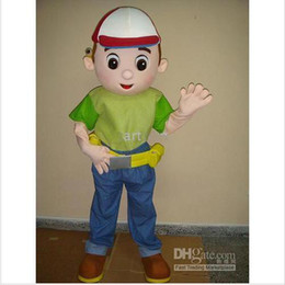 Wholesale handy manny Mascot Costume Adult For Promotion Free S H New Year Christmas Halloween