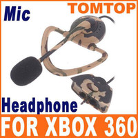 Wholesale Hot sale Cool Headphone Headset with Microphone Mic for xbox Live F1339