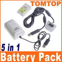 Wholesale Brand New in USB Charger Cable Kit amp X mAh Batteries For Xbox F1337W