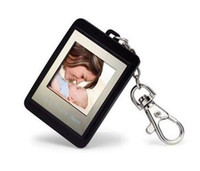 MP4 1.5 inch SD Card Christmas gift 1.5 inch Mini Digital photo frames electronic albums Key Ring Frame Video Playback