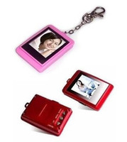 Wholesale Christmas gift inch LCD Mini Digital photo frames electronic albums of Key Ring brand new