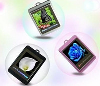 Wholesale Christmas gift inch Mini Digital Cameras photo frames lovely electronic albums Key Ring Frame