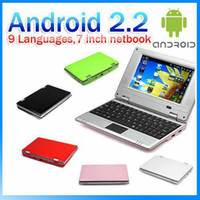 Wholesale 7 Inch Via8650 MiNi Netbook Android or Win CE Notebook Laptop UMPC MB GB Pieces it360