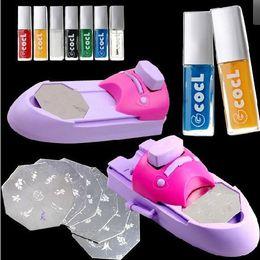 Wholesale 1pcs New Arrival DIY Nail Printer Nail Art Stamping Machine Nail Makeover Kits Nail Polisher