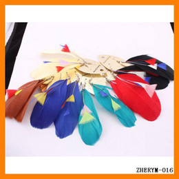 Free Shipping 24pcs lot 100% NEW Mix Color Unique Fashion Real Animal Feather Earrings Nickel Free