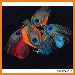 Wholesale 24pcs Factory Supply Directly New Peacock Feather Earrings Vogue Ladies Jewelry Charm Gifts