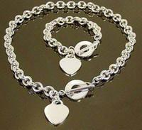 achat en gros de cadeau en argent 925 amour-Vente en gros - Commerce de détail plus bas prix cadeau de Noël en argent 925 amour + bracelet serti S76