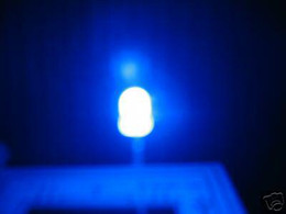 50x 3mm blue led,white diffused lens christmas light halloween promotion dip smt bulb