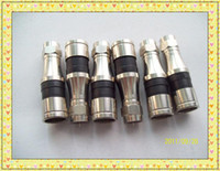 Wholesale a Compression Connectors For RG Cable COAX F Connector Four Shield