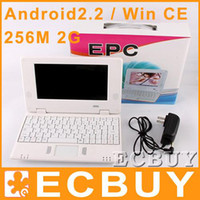 VIA epc mini notebook - Mini Laptop inch EPC WiFi GB Win CE Android2 Mini Notebook epc netbook epc cheap laptops