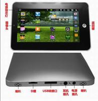 Wholesale 10pcs inch Android VIA E book reader silver black GB MB D flash Skype E book
