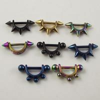 Wholesale 48pcs Piercing Nipple Jewelry Piercing Nipple Ring fashion cheap body pi