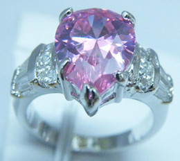 High Quality EXCELLENT EXQUISITE NATURAL 4.0CT PINK SAPPHIRE 14KT GOLD GEMSTONE RING -SW021