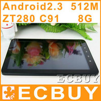 Wholesale 10 quot Android Tablet PC Zenithink ZT C91 GB RAM Cortex A9 Epad Capacitive Wifi HDMI Camera G