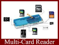 Wholesale Multi Card Reader SDHC Support M2 TF SD Memory Stick Colors Mini