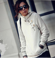 Wholesale NEW Women Hooded casual fashion Korea Long Sleeve Short Hoodie Outerwear E492