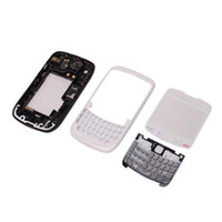 Wholesale Cell Phone Covers Case Full Housing Curve For Blackberry White Ship From USA M00988