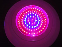 achat en gros de 90w led ufo plant light-90Watt 90W UFO usine de LED élèvent la lumière rouge et bleu et orange 7: 1: 1
